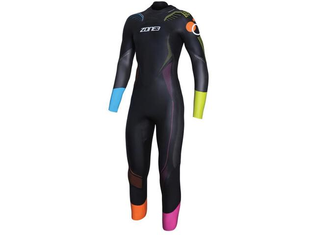 Zone3 Aspire Limited Edition Print Wetsuit Men, black/gun metal/multi